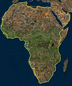 Африка и аравийский п в
